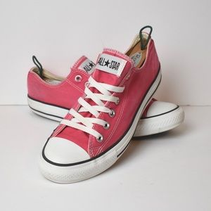 Pink Converse All Star Low Sneakers